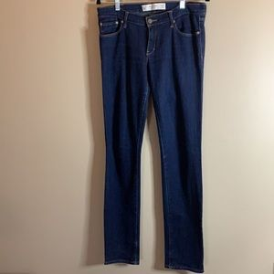 Abercrombie & Fitch Blue Slim Straight Jeans
